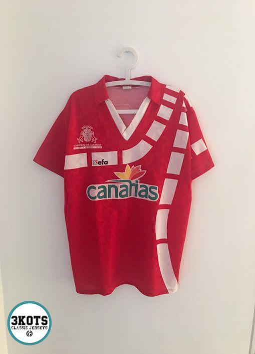 CANARIAS 90s Template Football Shirt (XL) Soccer Jersey Vintage EFA Canary  Red  EFASPORTS  Jerseys  CanaryIsland  Footballshirt 3d866448dd10e