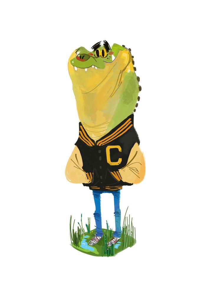 Crocodile on Behance
