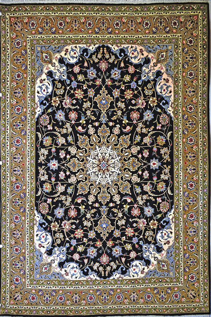 Exceptional Tabriz Wool Persian Rug | Exclusive Collection Of Rugs And Tableau Rugs    Treasure Gallery Tabriz