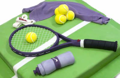 Tennis Time Birthday Cake   Celebration Cakes