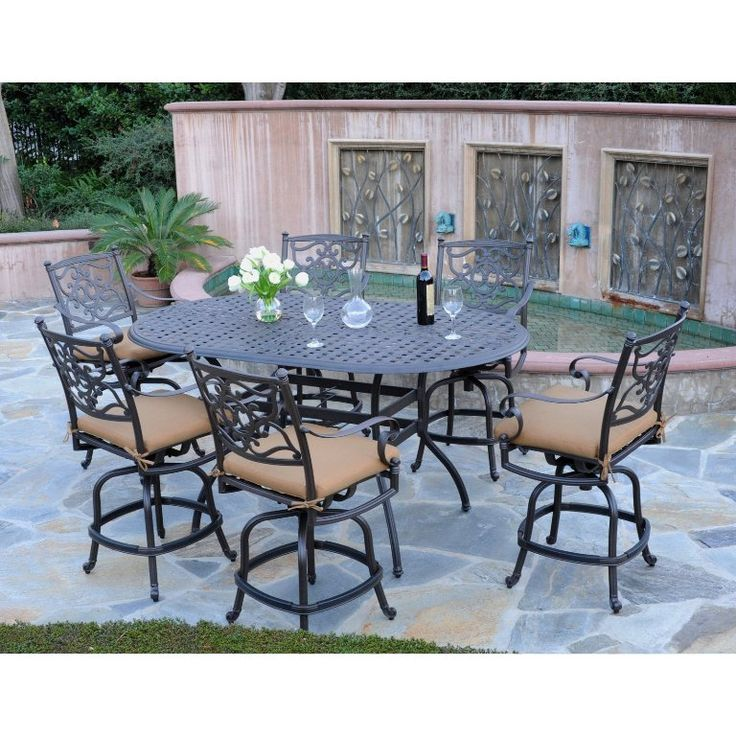 Fresh Stackable Bar Height Patio Chairs