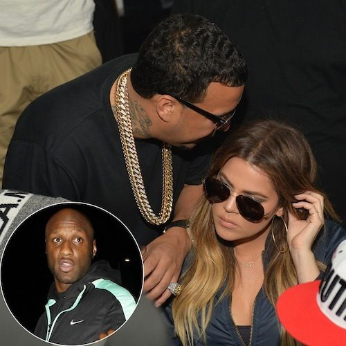 """""""Everything Happens For a Reason"""": French Montana Makes His 'Keeping Up With the Kardashians' Debut — As He and Khloé Narrowly Miss a Run-In With Her Estranged Husband Lamar Odom!"""