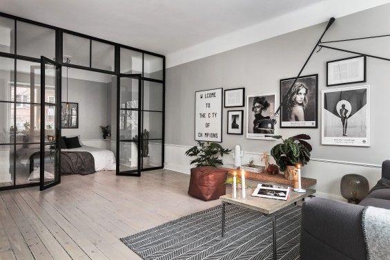 Klein maar fijn appartement | Stek Magazine | Scandinavian Homes | Appartment | Small living space