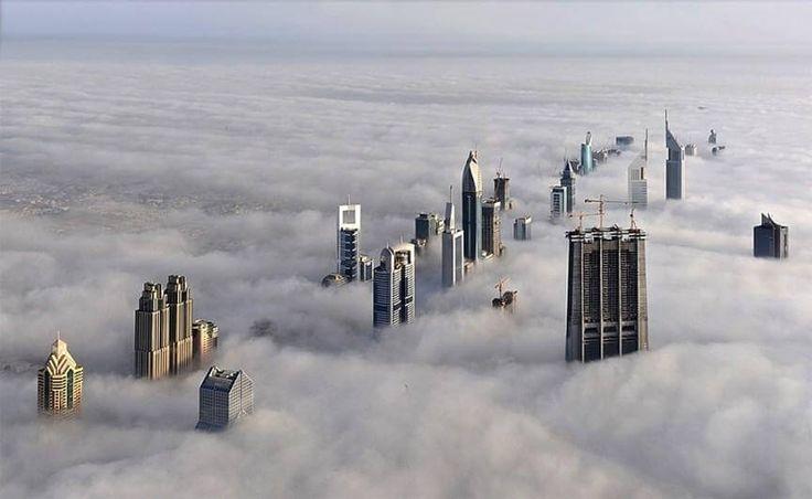 Burj Khalifa Top Building View