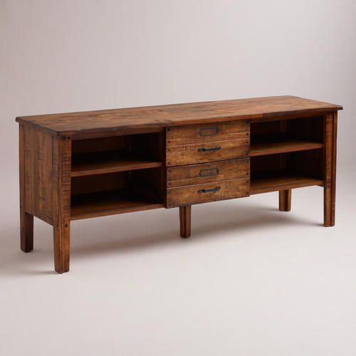 Roland Media Stand - this would make a nice short buffet/sideboard in front of dining room windows