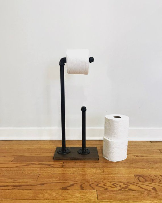 Toilet Paper Stand With Extra Storage Industrial Toilet Paper