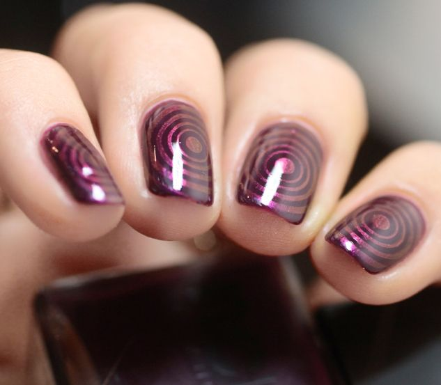 126 Best Nails Wine Burgundy Plum Images On Pinterest Make Up Enamels And Beautiful