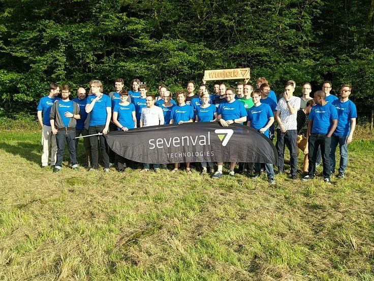 Sevenval #Woodhack 2017: Wir hatten jede Menge gute Ideen, viel Spaß und haben in kürzester Zeit coole Sachen auf die Beine gestellt! #Hackathon