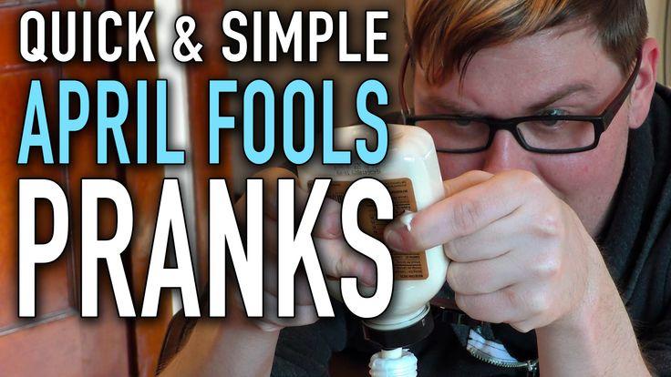 8 Quick & Simple April Fools' Pranks