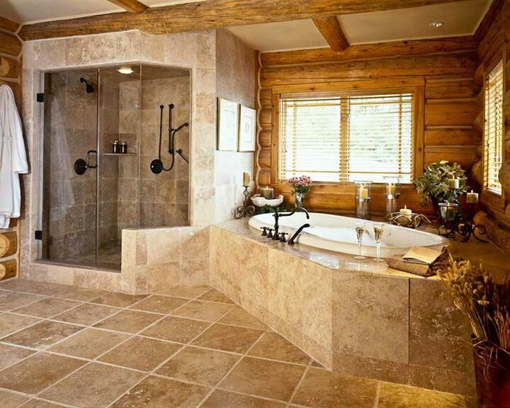Amazing Nice Bathroom Designs By Rocky Mountain Log Homes   Style Estate  .