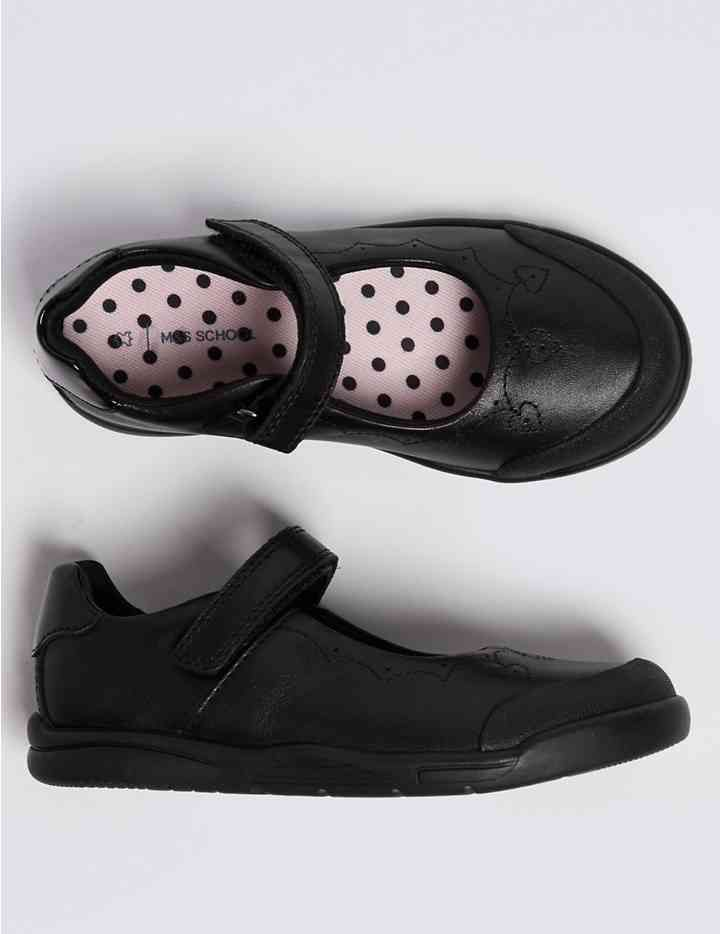 Kids' Leather School Shoes (8 Small - 1