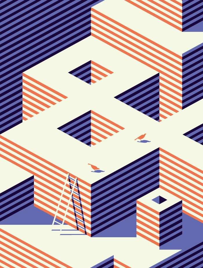 NEW REPUBLIC - Malika Favre / vector / geometric