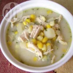 Recipe photo: Creamy Chicken and Sweetcorn Soup