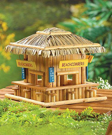 Beachcomber Birdhouse #zulily #zulilyfinds