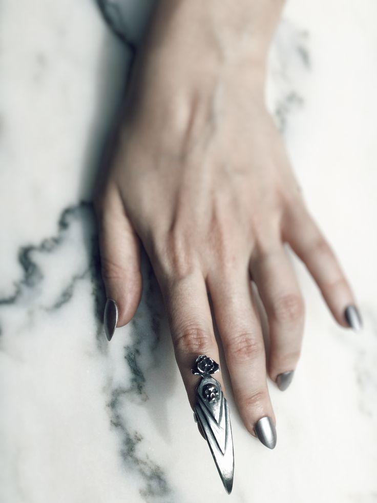 Stilleto Nail rings