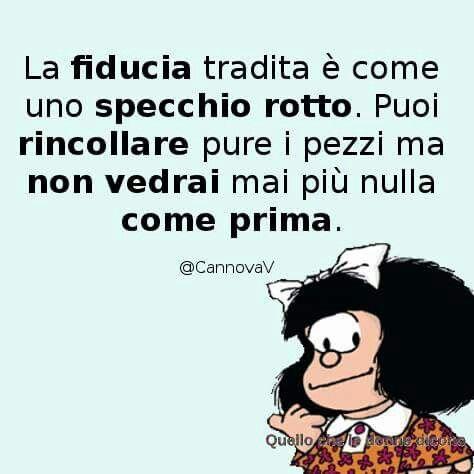 Mafalda ha rogione.