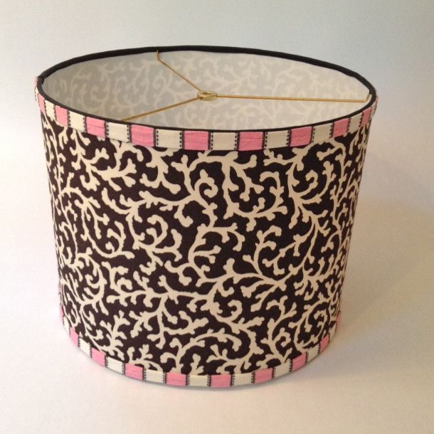 17 best custom lamp shades on etsy images on pinterest custom lamp pink and black drum lamp shade for sale order custom lamp shades 703 aloadofball Images