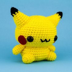 11 Crochet Pokemon You'll Want to Have a GO At- links to free or paid patterns