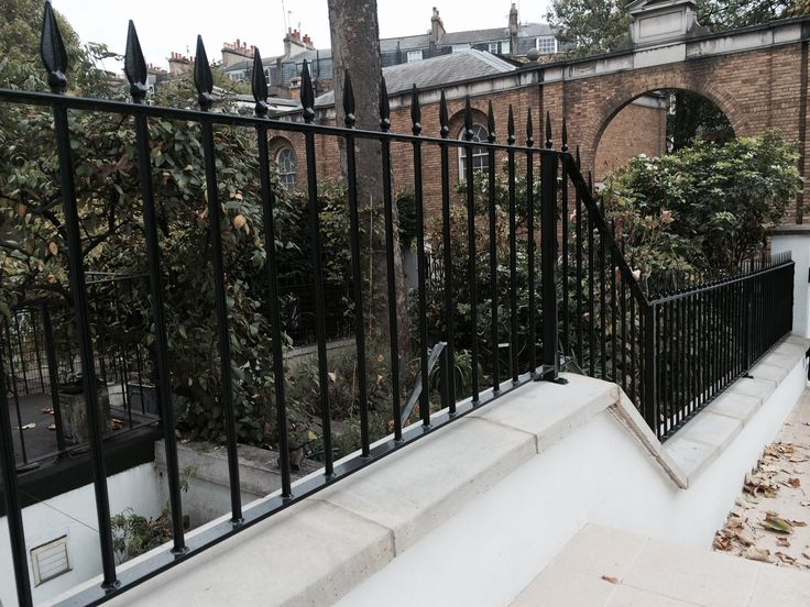 Extremely happy couple with our RSG4200 railings & balustrades professionally fitted to their residential project in Kensington.