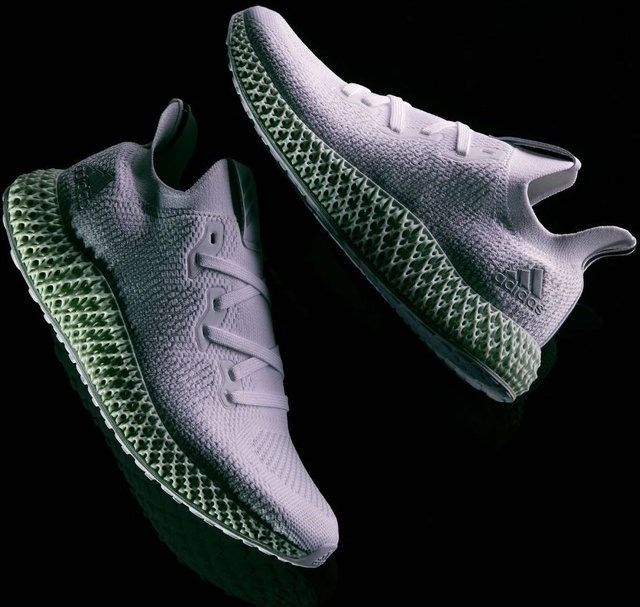 Adidas Alphaedge 4d White Fancy Com White Running Shoes Adidas Sneakers Fashion