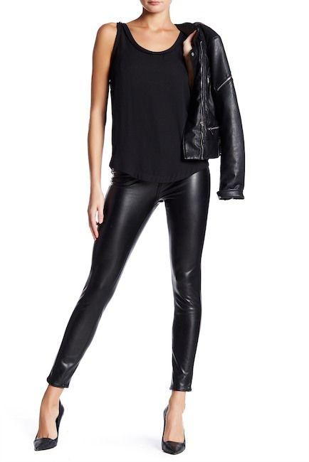160f4b23de ASHLEY MASON | High Rise Faux Leather Pants | who wears the PANTS ...