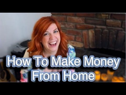 Money Awesomeness: Learn How to Make Money From Home!  Learn a variety of jobs that you can do right from the comfort of your own home.