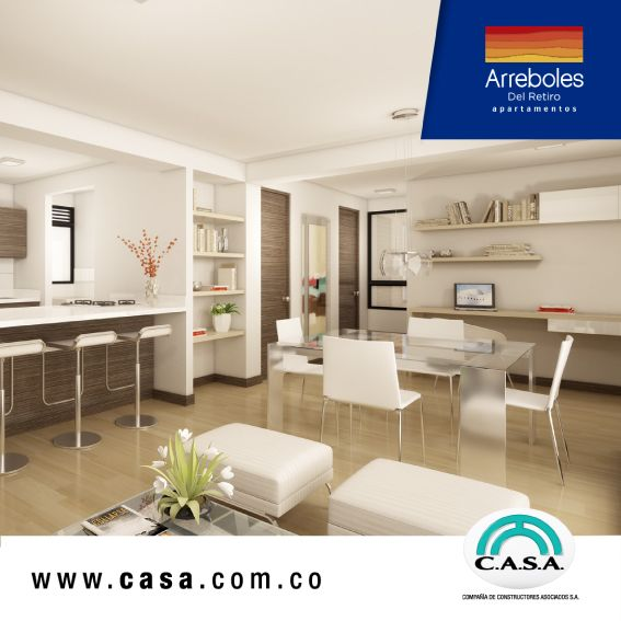 Diseñamos espacios pensando en tu bienestar ¡Ven y conoce este nuevo proyecto! #apartamentosarrebolesdelretiro #disfrutadelopropio #estrenaapartamento