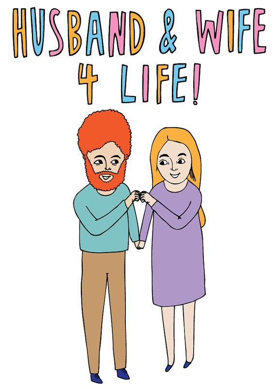 Greeting Card - Husband And Wife 4 Life | Valentine's Day ...