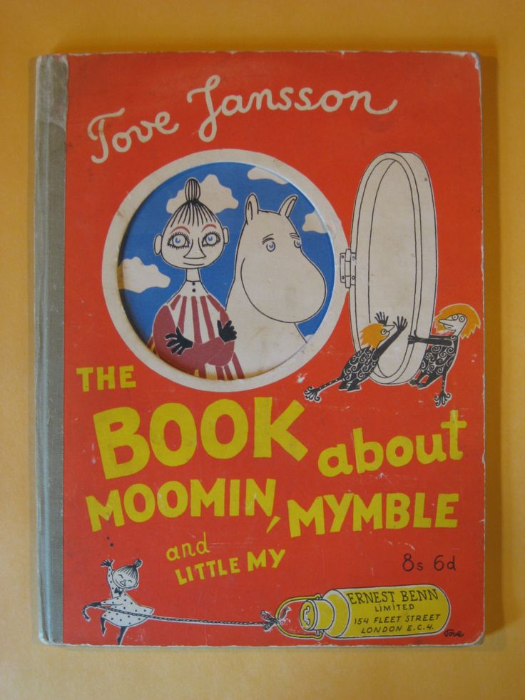 First Edition - The Book About Moomin, Mymble and Little My by Tove Jansson by Pistilbooks on Etsy