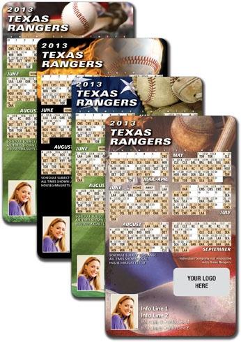 Tx Rangers Schedule Magnets