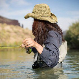 Women in Fly Fishing: Rebecca Garlock I can't wait to be waist deep in a river, fly fishing with my love