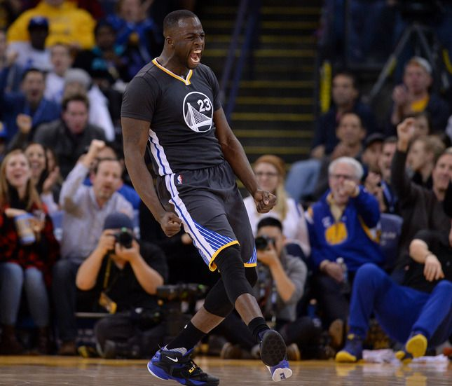 Mobile Web - Sports - Thompson: Warriors' Draymond Green soars as goodwill ambassador