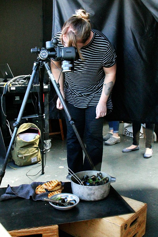 behind the scenes of a cookbook