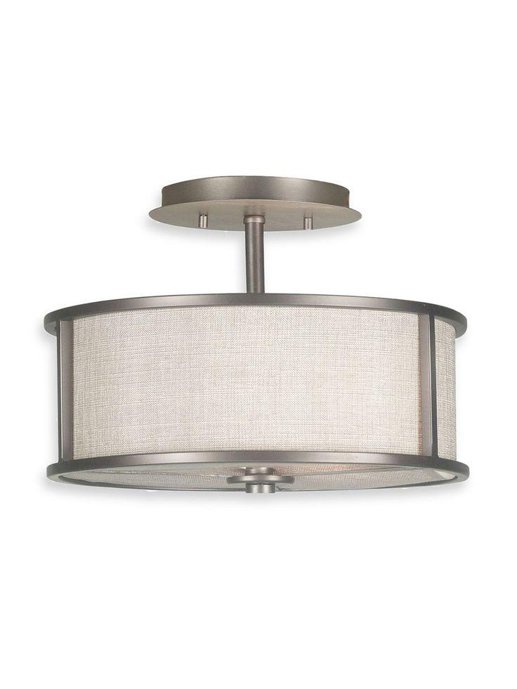 Kenroy home 91582 whistler 2 light semi flush ceiling fixture bronze gilt indoor lighting ceiling fixtures semi flush