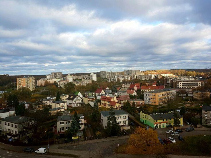 Widok z ul.Myśliwskiej