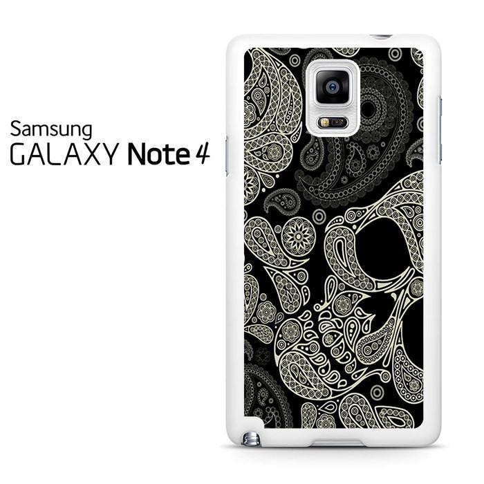 Sugar Skull Pattern Samsung Galaxy Note 4 Case