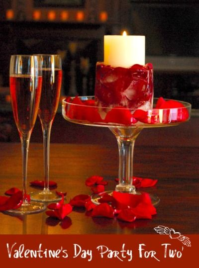 Valentine's Day party for two