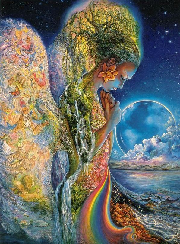 Josephine Wall is an incredible artist. Love her work. This is one of my favorites.