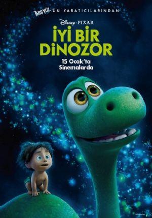 2015 yılında gösterime giren İyi Bir Dinozor bir animasyon filmidir. ABD yapımı olan film bir buçuk saatlik süreye sahiptir. Ayrıca macera ve komedi türlerini d