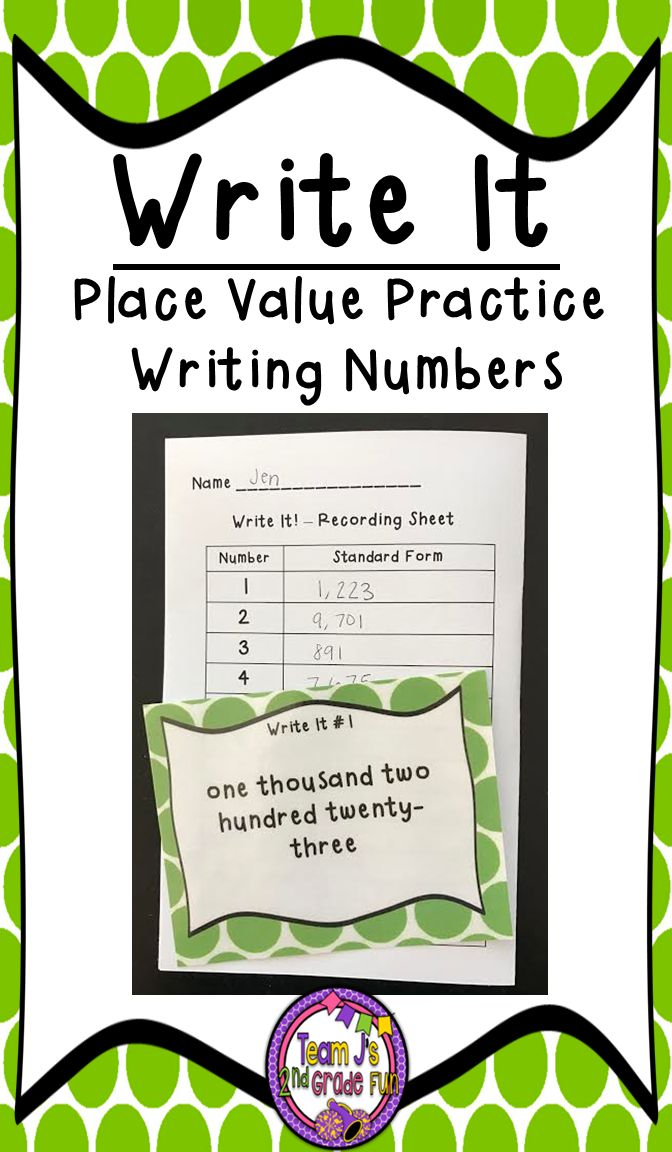 553 Best Place Value Images On Pinterest Learning Activities