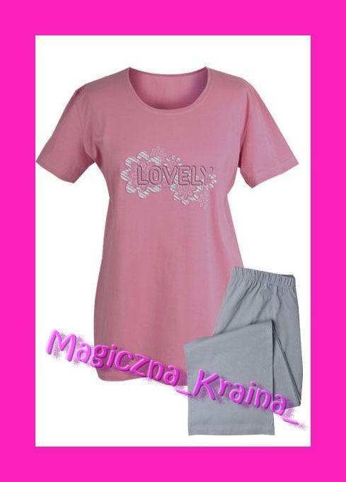 -- Piżama bawełna 3/4 MUZZY Lovely rozm. XL --
