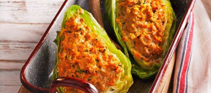 Spitskool met groente- gehaktvulling   Lekker Tafelen