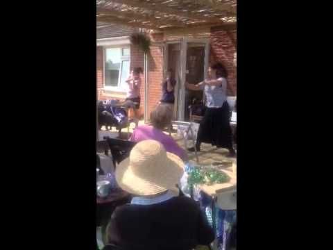 Music and exercise activities at Riversway Nursing Home Bristol