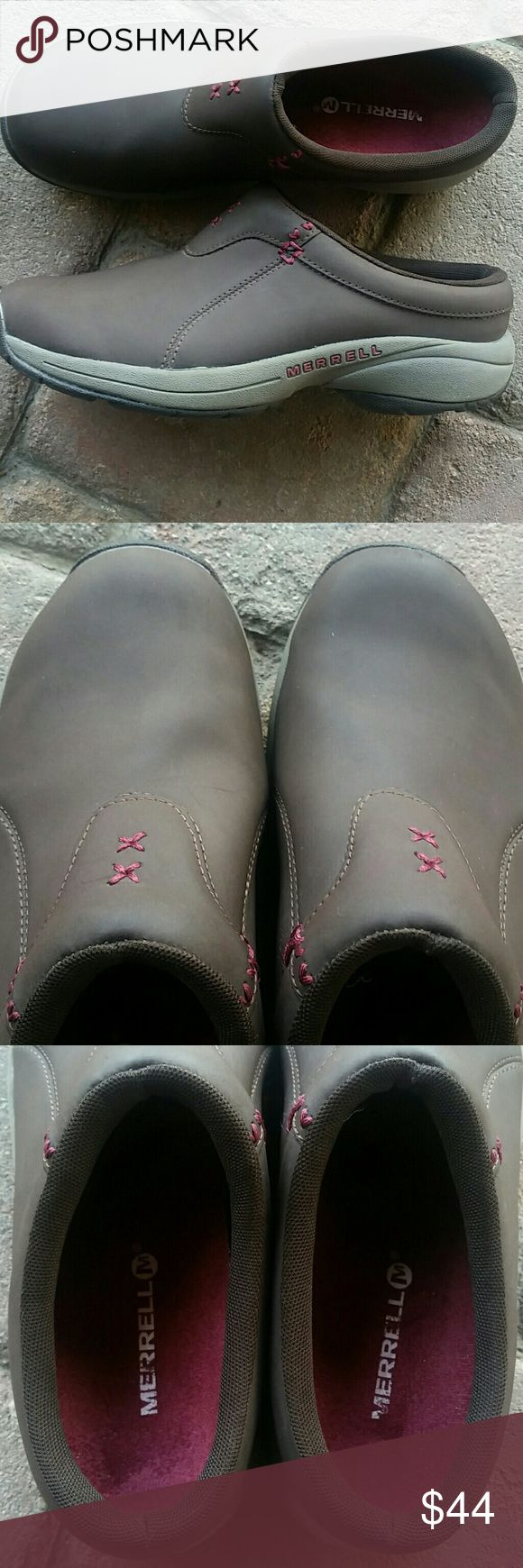 Women's Merrill Slip On Shoes Expresso Sz 9 Women's Merrill Slip on shoes. Sz 9 Expresso, like new. Merrill Shoes