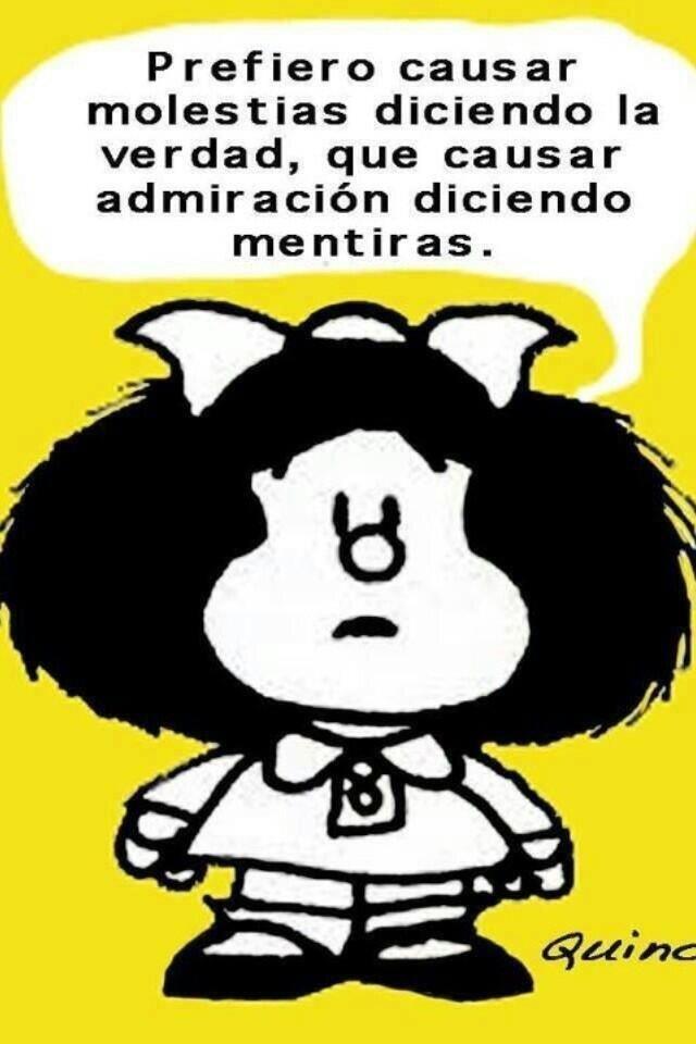 Frases De Mafalda   ๋•· Frases célebres , Imágenes con frases , Reflexiones
