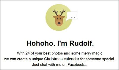 Rudolph Adventson Chatbot creates a Facebook Messenger Christmas advent calendar! #digitalmarketing