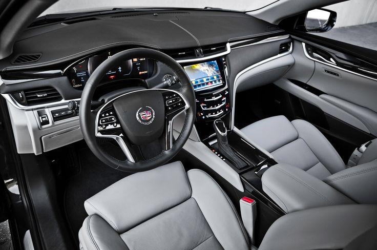 Cadillac XTS limousine interior - Driver | driving service ...