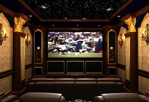17 Best Images About Home Theatre & Media Rooms On