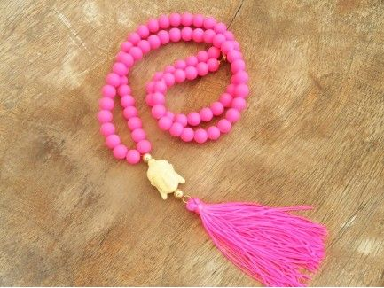 Budha Neon Necklace