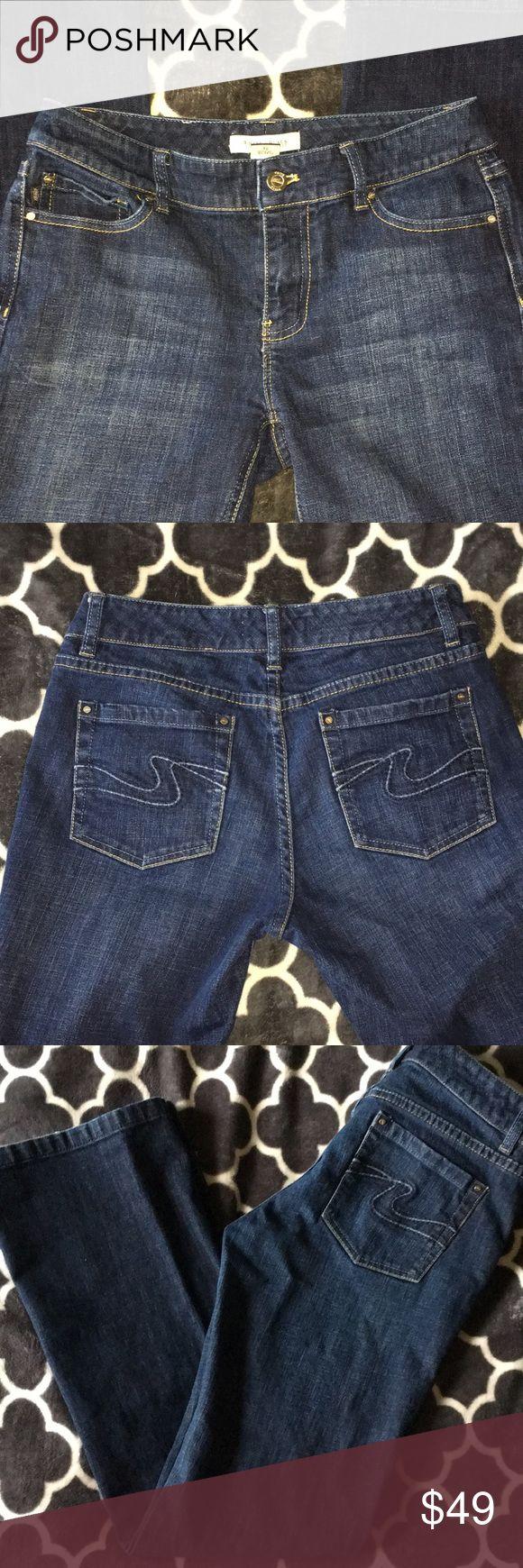 White House Black Market jeans WHBM jeans! Great condition!! Blanc size 4 reg White House Black Market Jeans